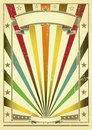 Multicolor vintage paper Stock Photo