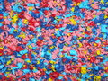 Multicolored abstract background close up of textured Royalty Free Stock Photography