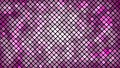 Multicolored abstract background of violet pink squares, rhombuses, rectangles tiles, mosaic with seams