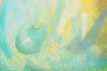 Multicolored abstract brush painting Stock Photography