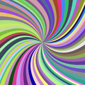 Multicolored abstract spiral background
