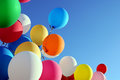 Multicolored balloons Royalty Free Stock Photo