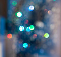 Multicolored bokeh. Stock Photography