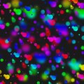 Multicolored Bokeh Background Royalty Free Stock Photo