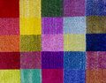 Multicolored carpet texture Royalty Free Stock Photo