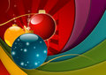 Multicolored Christmas Background Stock Photo