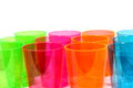 Multicolored Cups Stock Image
