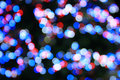 Multicolored defocused bokeh lights background Stock Image