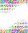 Multicolored Halftone Background