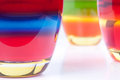 Multicolored jellys Royalty Free Stock Images