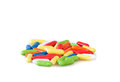 Multicolored Licorice Royalty Free Stock Photo