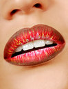Multicolored lipstick Royalty Free Stock Photos