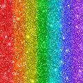 Multicolored rainbow glitter background. Vector Royalty Free Stock Photo