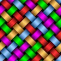 Multicolored ribbons. Royalty Free Stock Photos