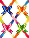Multicolored ribbons Royalty Free Stock Photo