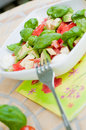 Multicolored salad Royalty Free Stock Image