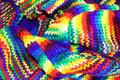 Multicolored scarf Royalty Free Stock Image