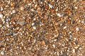 Multicolored sea gravel. Texture and background Royalty Free Stock Photo