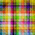 Multicolored squared textured canvas Royalty Free Stock Images