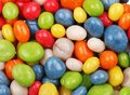 Multicolored sweets covered with glaze Stock Photography
