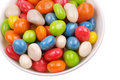 Multicolored sweets covered with glaze Royalty Free Stock Photography