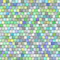 Multicolored tiles med Royalty Free Stock Images