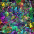 Multicolored tinsel Royalty Free Stock Image