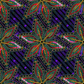 Multicolored Vector Sequins Beads Seamless Pattern Background