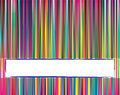 Multicolored vertical lines Stock Photo