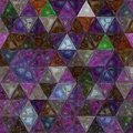 Multicolors triangle background effect stained glass Royalty Free Stock Photo