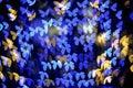 Multicolour Bokeh Butterfly Sh...