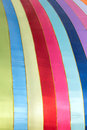 Multicolour cloth the background of silk Stock Photos