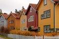 Multicoloured Houses Stock Photo