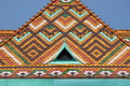 Multicoloured roof of matthias church in budapest hungary Royalty Free Stock Images