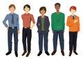 Multicultural Men