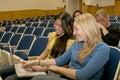 Multikultúrna študenti v trieda
