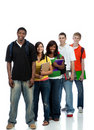 image photo : Multicultural College Students