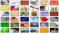 Multimedia center presentation Stock Image