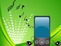 Multimedia mobile Stock Image
