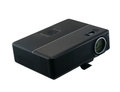 Multimedia projector multmediyny on a white background Stock Photos