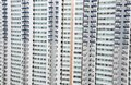Multiple apartment windows in singapore picture of Stock Photo