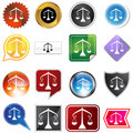Multiple Buttons - Libra Royalty Free Stock Image