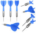 Multiple dart arrows Stock Images