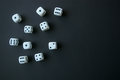 Multiple dice Royalty Free Stock Photo