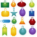 Multiple Tag Icons Royalty Free Stock Photo