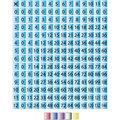 Multiplication Chart 0 through 12 Stock Image