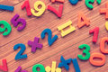 Multiply. School concept. Royalty Free Stock Photo