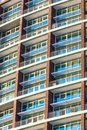 Multistory apartments house Stock Images