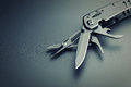Multitool knife Royalty Free Stock Photo
