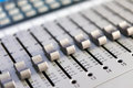 Multitrack Sound mixer Royalty Free Stock Photo